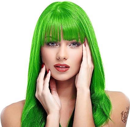 MyPartyShirt - Tinte para el pelo con diseño de pánico verde ...