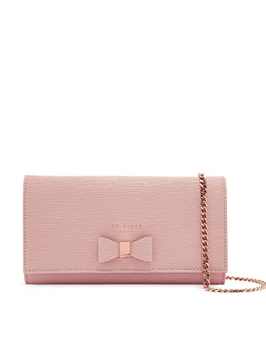 7a567073690e Ted Baker Abriana Pink Bow Detail Crossbody Leather Evening Bag/Purse RRP £ 99