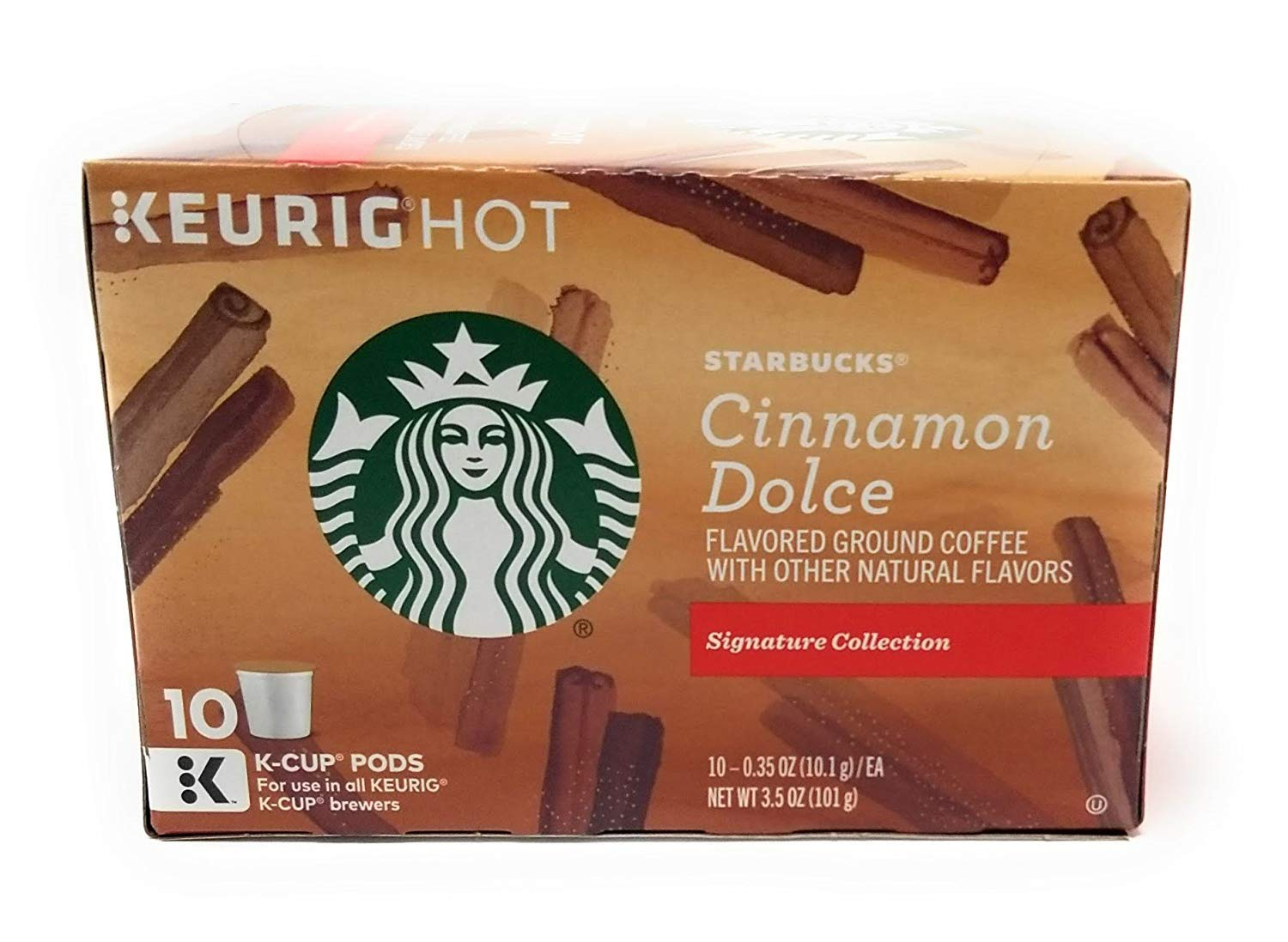 Starbucks Cinnamon Dolce K-Cup for Keurig K-Cup Brewers, 10 Count (Pack of 3)
