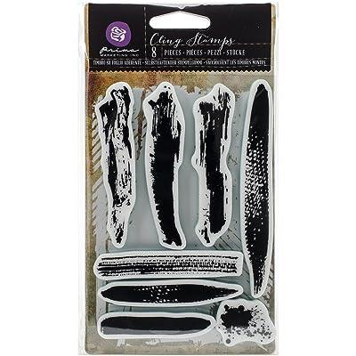 Prima Marketing tampons en caoutchouc étirable 10cm x 15cm, coups de pinceau
