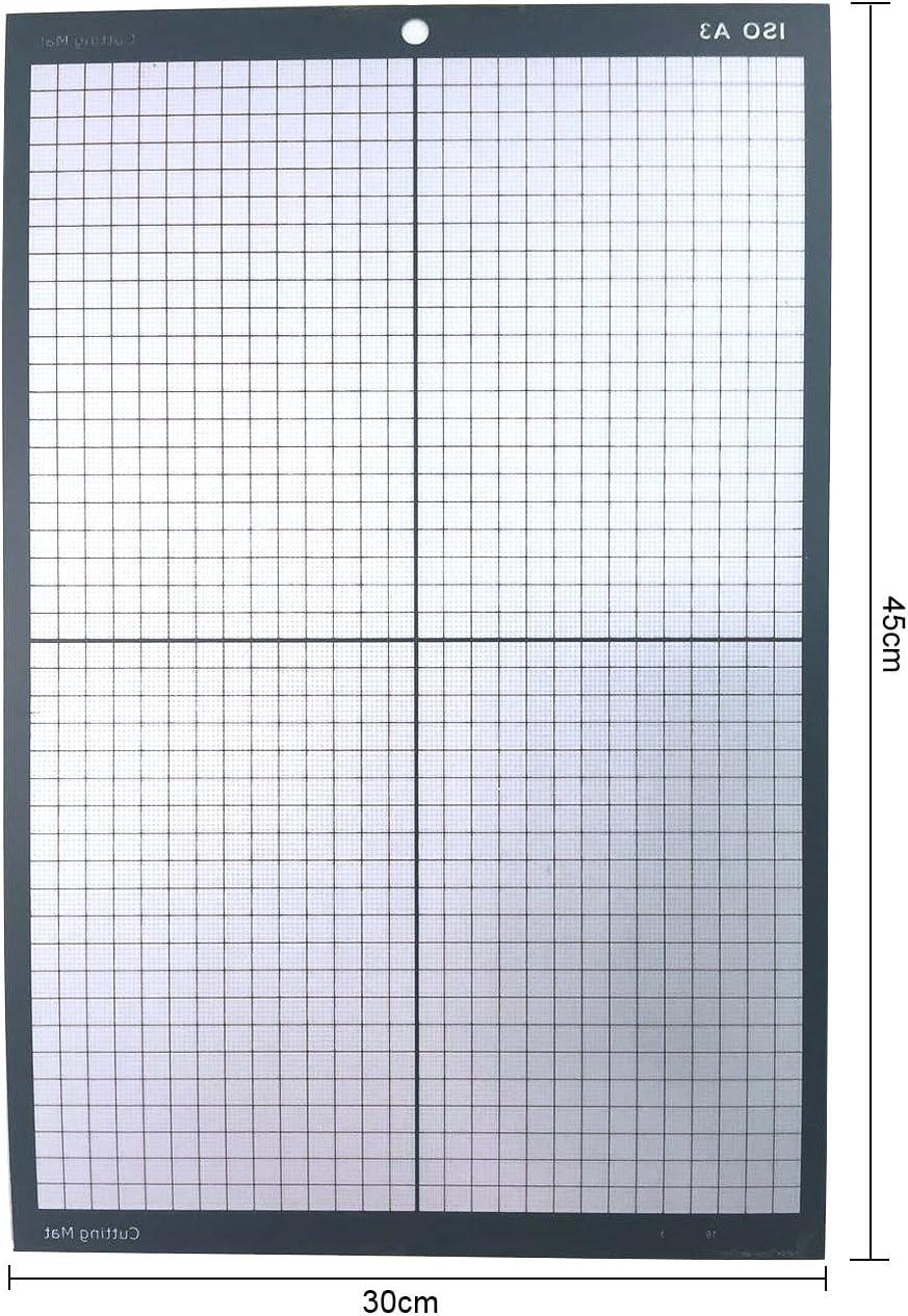 SigntigerGentle A3 Estera de corte con rejillas No Slip Vinyl Cutter Plotter: Amazon.es: Oficina y papelería
