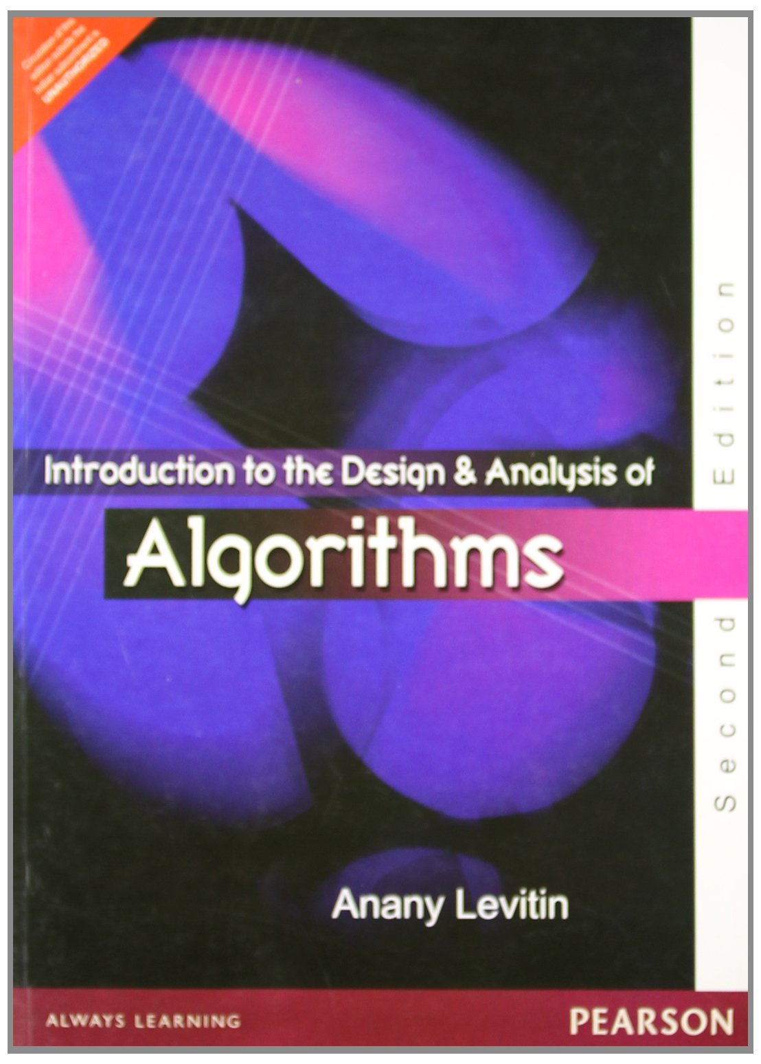 Mnl 7488 Introduction Design Analysis Algorithms Levitin Ebook User
