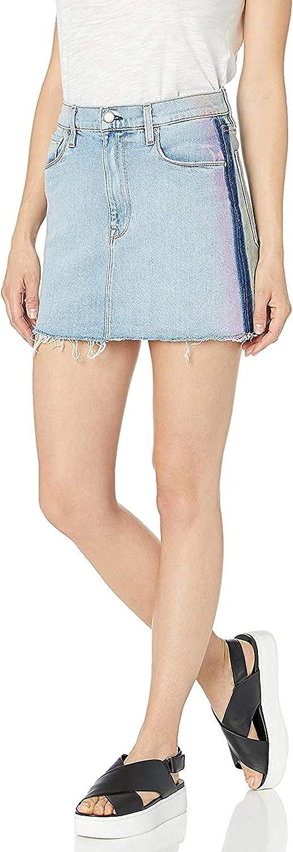 HUDSON Women's Viper Skirt Mini Denim Deluxe shop