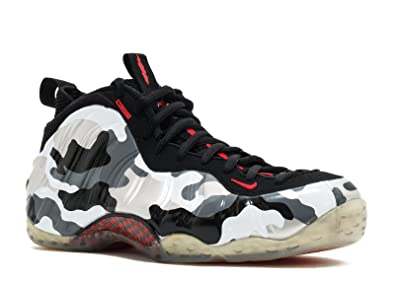 separation shoes 51c22 45245 Image Unavailable. Image not available for. Color  Nike Mens Air Foamposite  One Premium Black Red Grey White 575420-001 11.5
