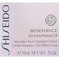 Shiseido Benefiance Wrinkle Resist24 Intensive Eye Contour Cream for Unisex, 0.51...