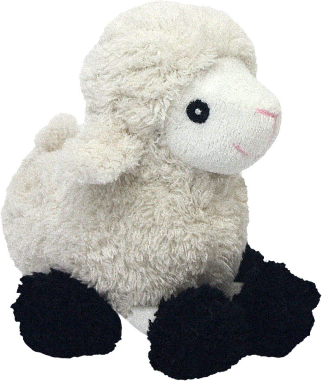Multipet Look Whos Talking Plush Sheep 6-Inch Dog Toy Multipet International 27019