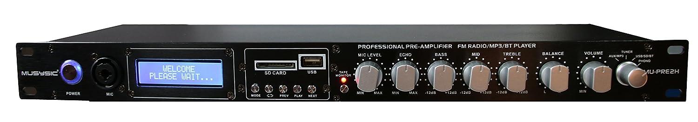 MUSYSIC MU-PRE2H Professional Audio Sound Processor Preamp Pre-Amplifier Pre-Amp