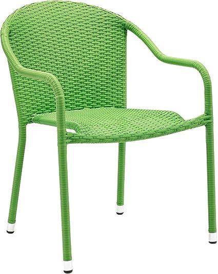 Amazon.com: Crosley Furniture CO7109-GR Palm Harbor - Sillas ...
