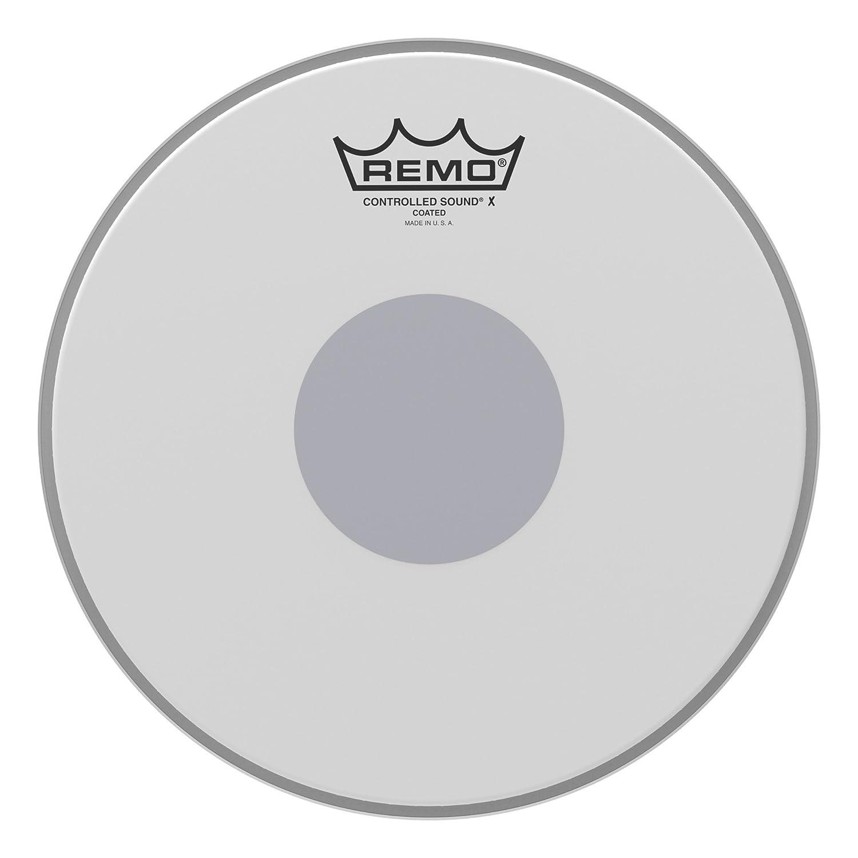 Remo CX011310 Controlled Sound X Drum Head, 13-Inch, Black Dot on Bottom Remo Inc. CX0113-10