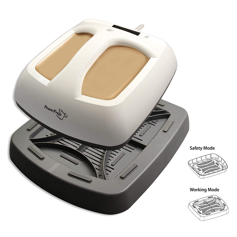 PowerPress HPM-0000-GD Heat Press Machine Portable-Gold