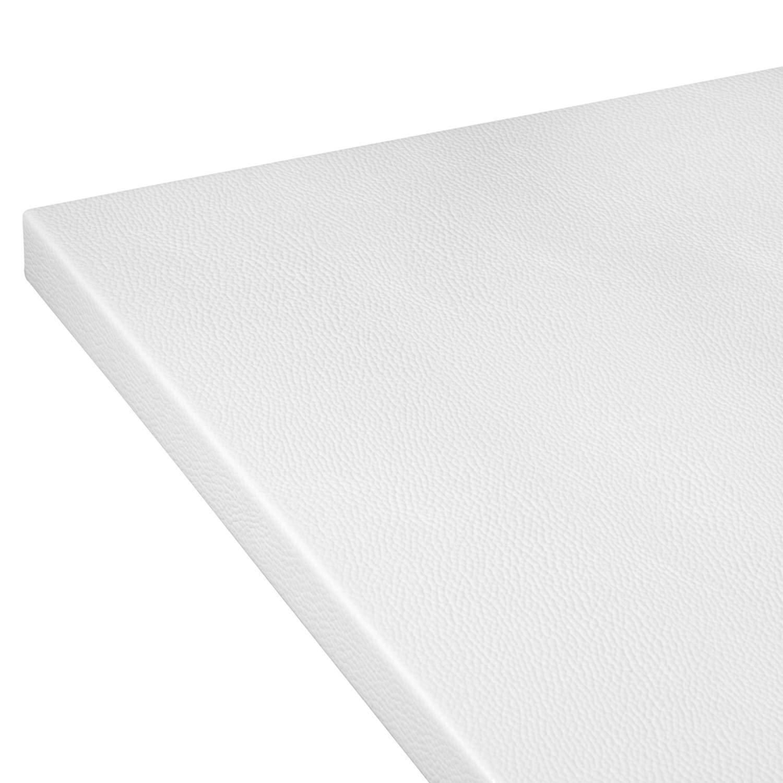 Colorazione:Nero Sottomano da scrivania Dale Angled con protezione bordo cm 60x40 in finta pelle//angolato a 90/° in 8 colori