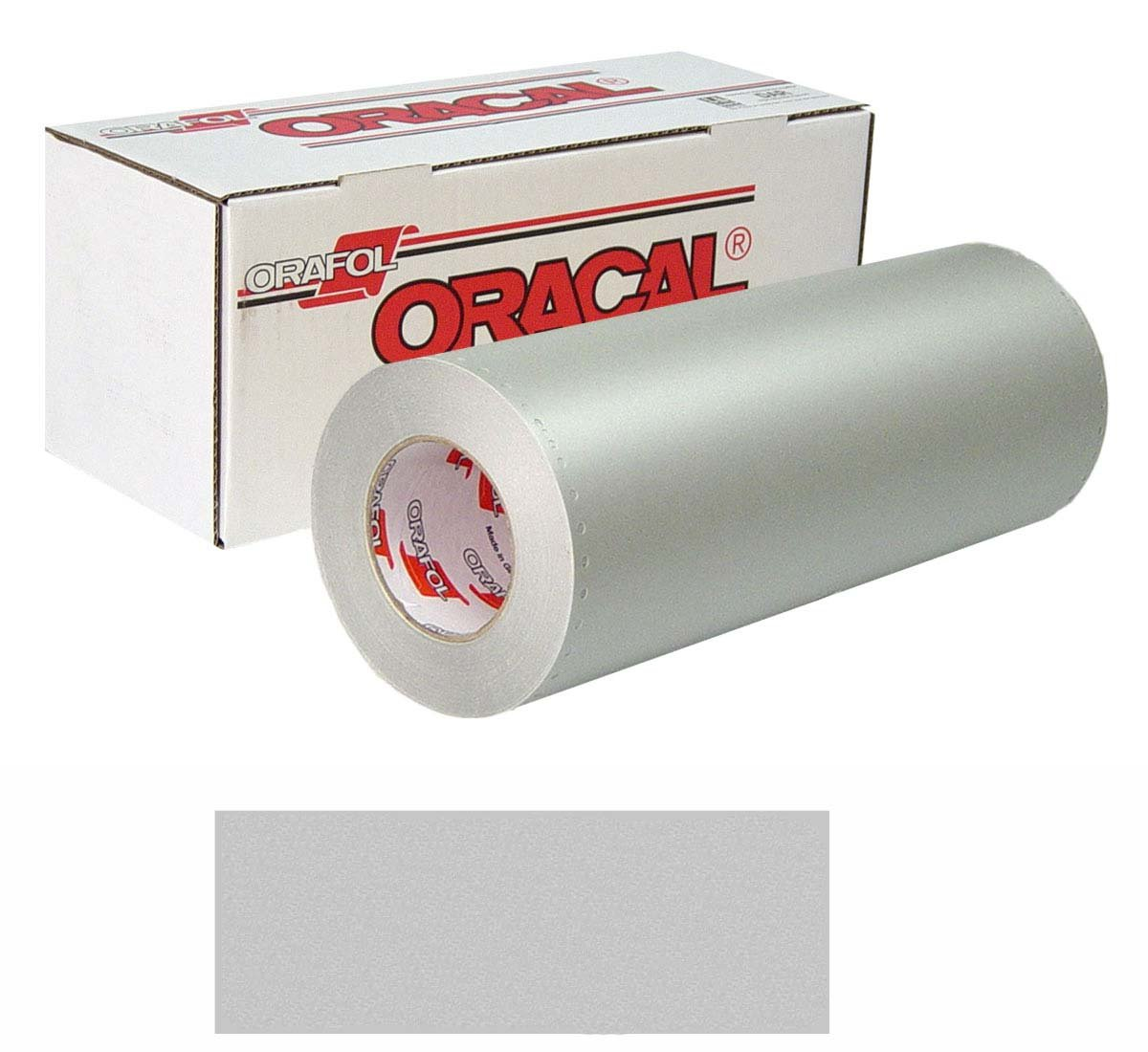 ORACAL 8510 Etched Unp 24In X10Yd 090 Slvr-Fi