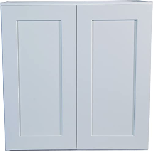 Design House Brookings 30-Inch Wall Cabinet, White Shaker