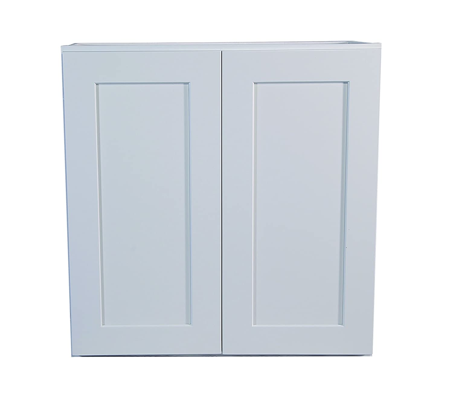 Design House 561589 Brookings 27 Inch Wall Cabinet White Shaker