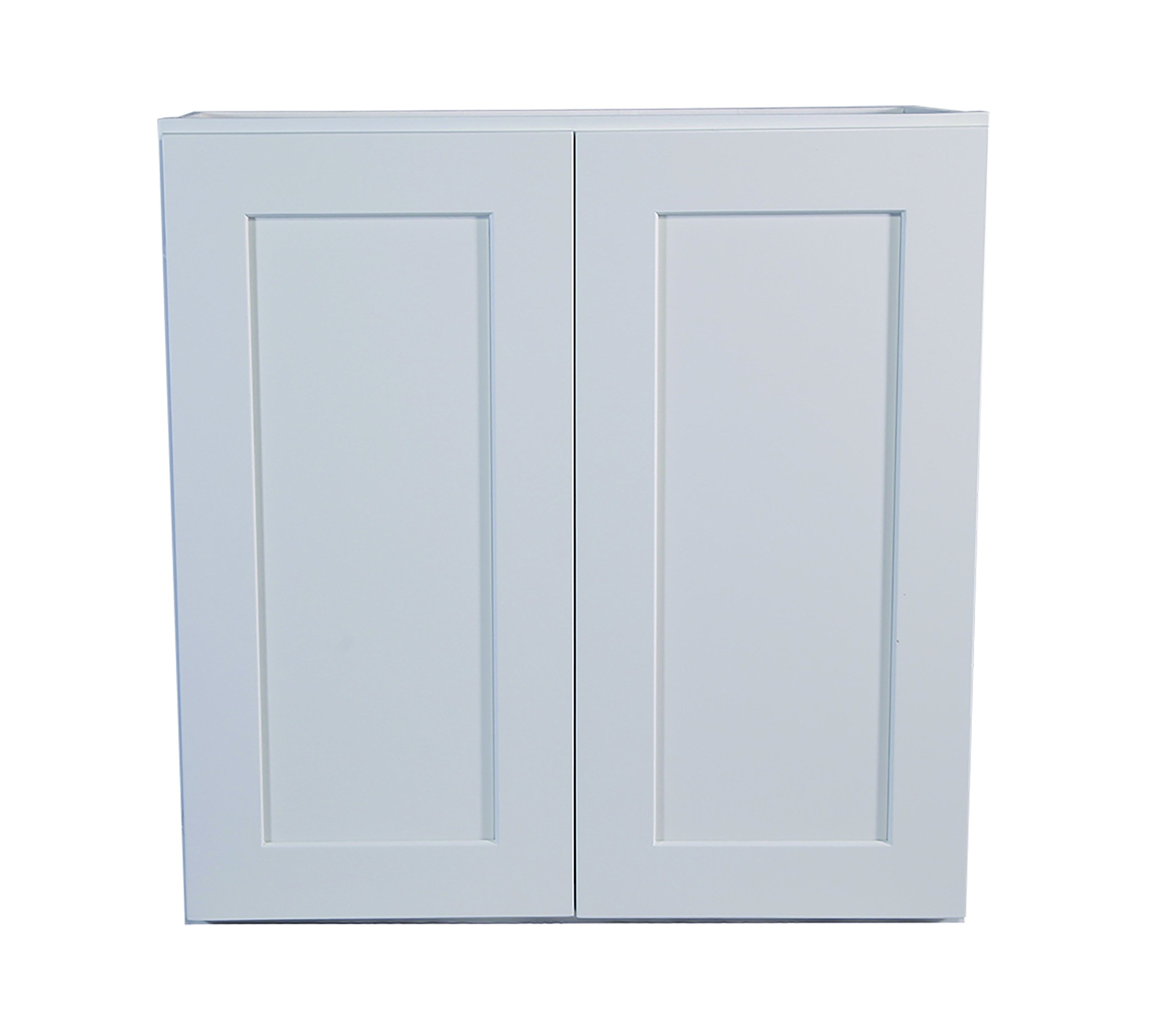 Design House Brookings 30-Inch Wall Cabinet, White Shaker by Design House