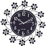 1e43df36c eCraftIndia Decorative Analog Diamond Series Plastic Wall Clock (39 cm x 3  cm x 39