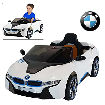 Amazon Com Bmw I8 12v Kids Ride On Car With Remote Control