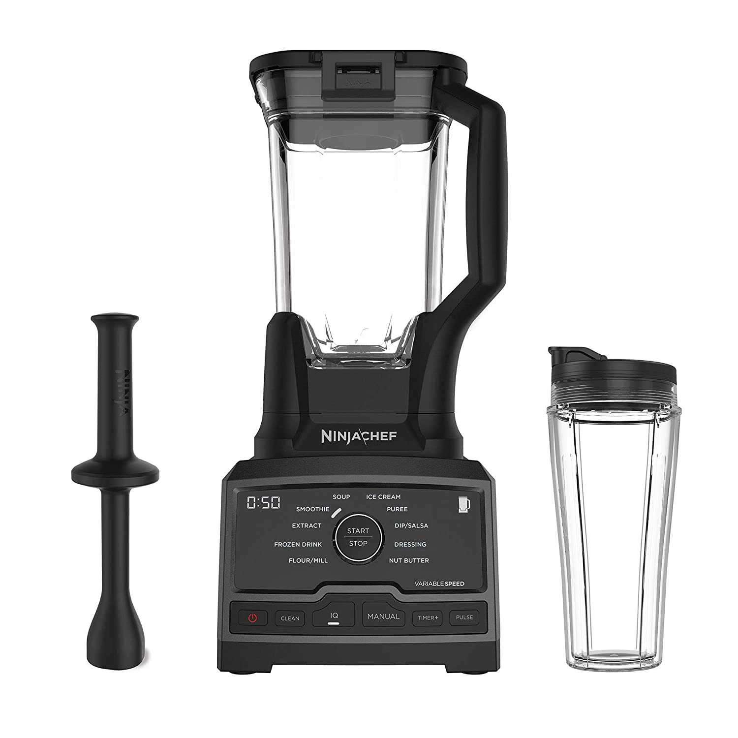 Ninja CT810 Blender, Silver/Black (Renewed)