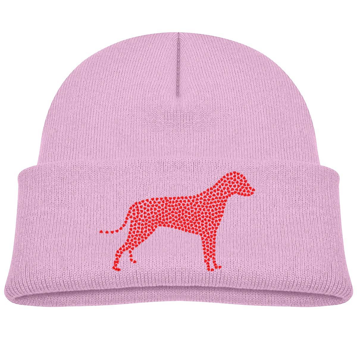 5c315e5bf7a Amazon.com  Red Heart Dog Paw Beanie Cap Skull Hat Baby Girl  Clothing