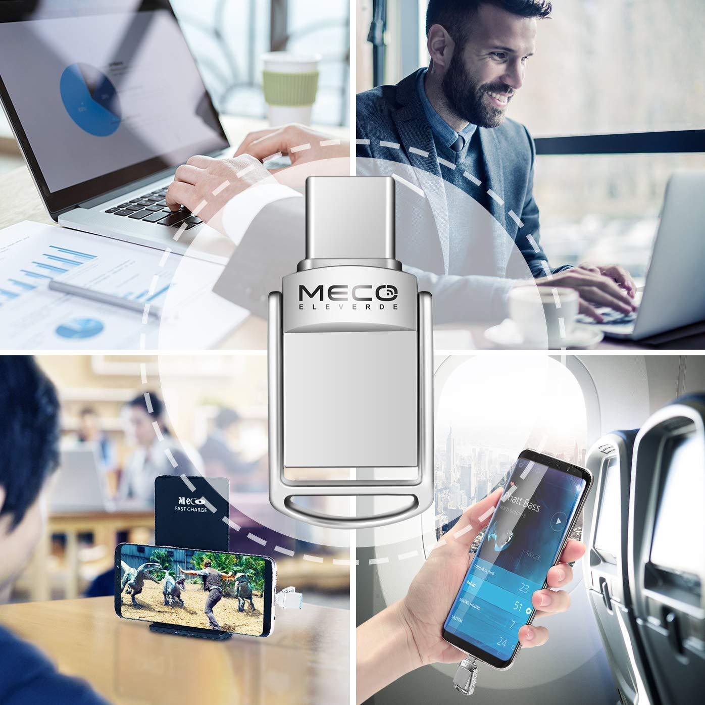 MECO ELEVERDE Pendrive 32gb 3.0 Memoria USB 32Giga 3.0 Luces de Colores Memory Stick Flash Drive para PC//Laptop//Notebook