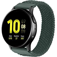T Tersely Braided Solo Loop 20mm Replacement Band Strap for Samsung Galaxy Watch 3 41mm/Galaxy 42mm/Galaxy Watch Active…
