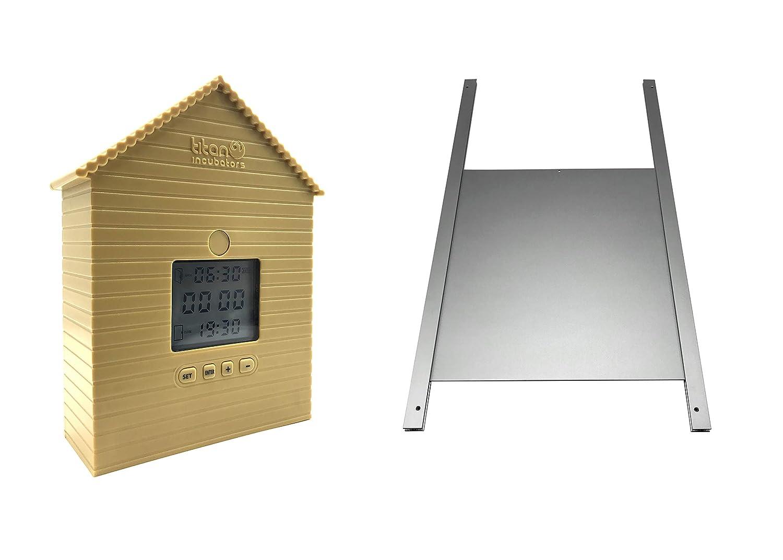 Titan Incubators Chicken House Door Opener & Metal Door