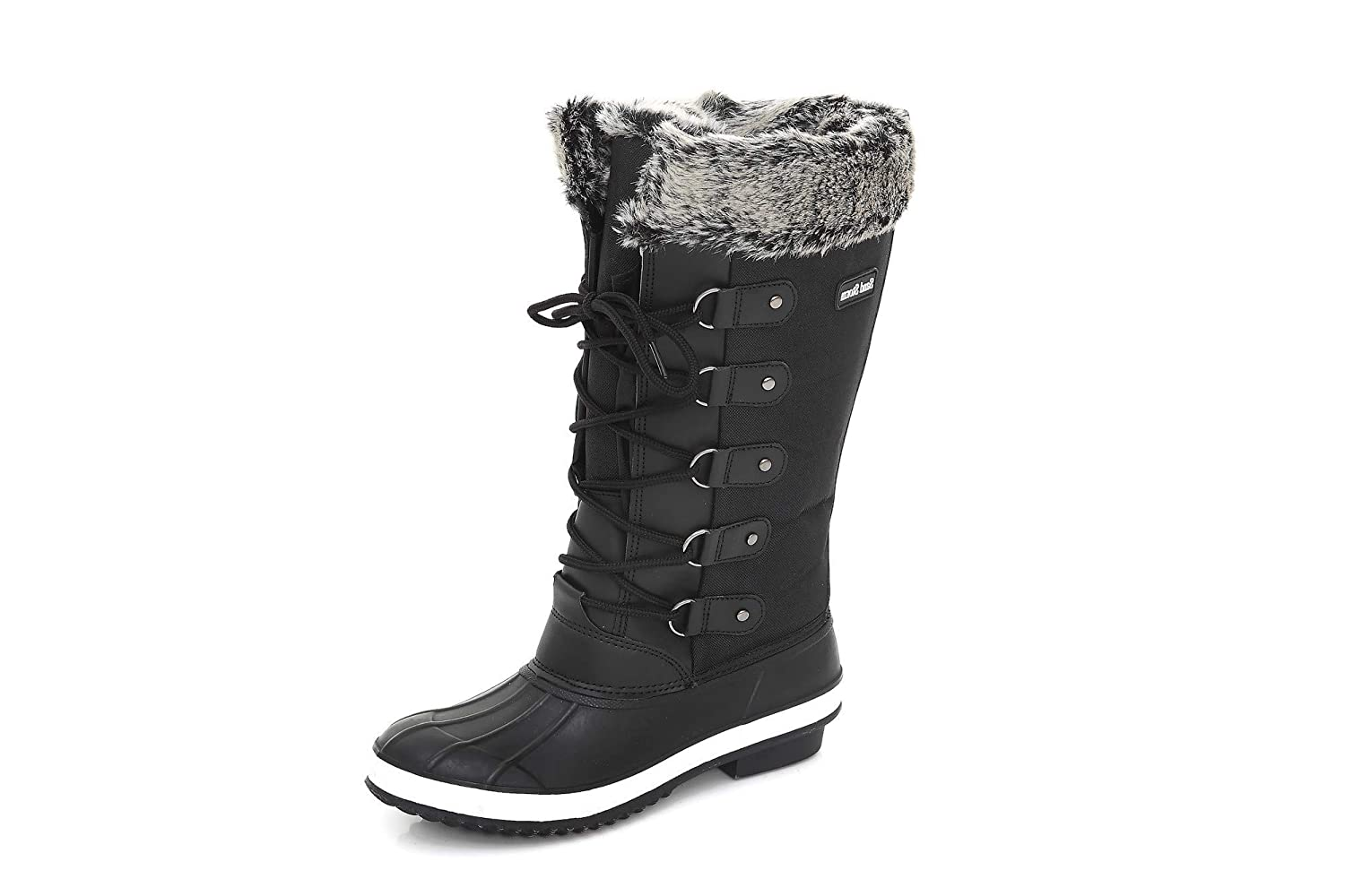 Sand Storm Womens Winter Snow Boots Tall Insulated Lace-up Closure Comfortable Weatherproof