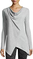 Marc New York by Andrew Marc Performance Womens Asymmetric Long-Sleeve Tunic