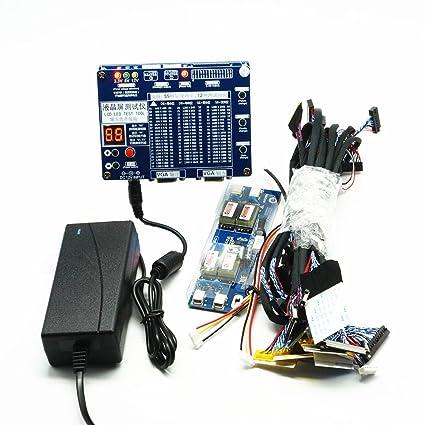 Comprobador de panel, LED pantalla LCD probador herramienta para TV ordenador portátil reparación con 55