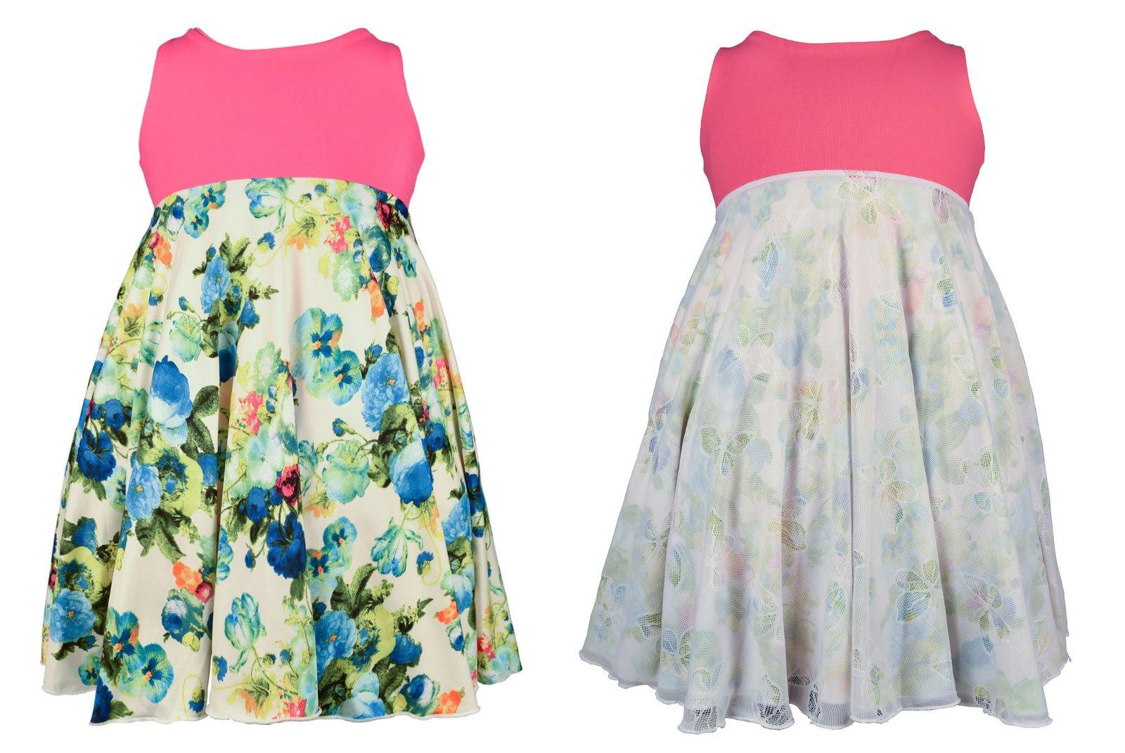 Spinning Tales Butterfly Garden Spin Dress - Reversible (10)