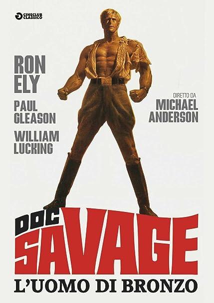 Doc Savage - LUomo Di Bronzo [DVD]: Amazon.es: Ron Ely ...