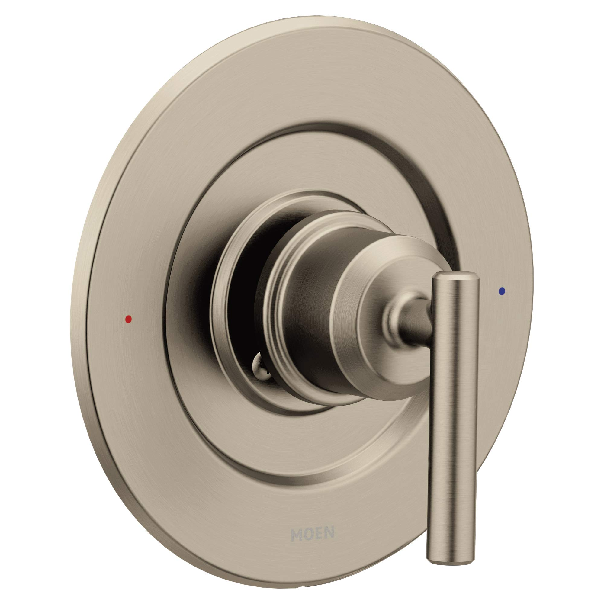 Moen T2901BN Gibson Posi-Temp Pressure-Balancing Modern Valve Trim, Valve Required, Brushed Nickel by Moen (Image #1)