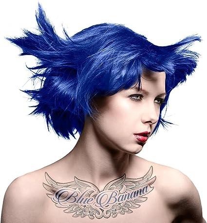 MyPartyShirt Blue Moon Manic Panic Vegano 4 Oz Tinte de Pelo de Color