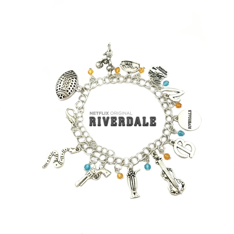 Amazon.com: Riverdale Netflix TV Series Theme Multi Charms Jewelry ...