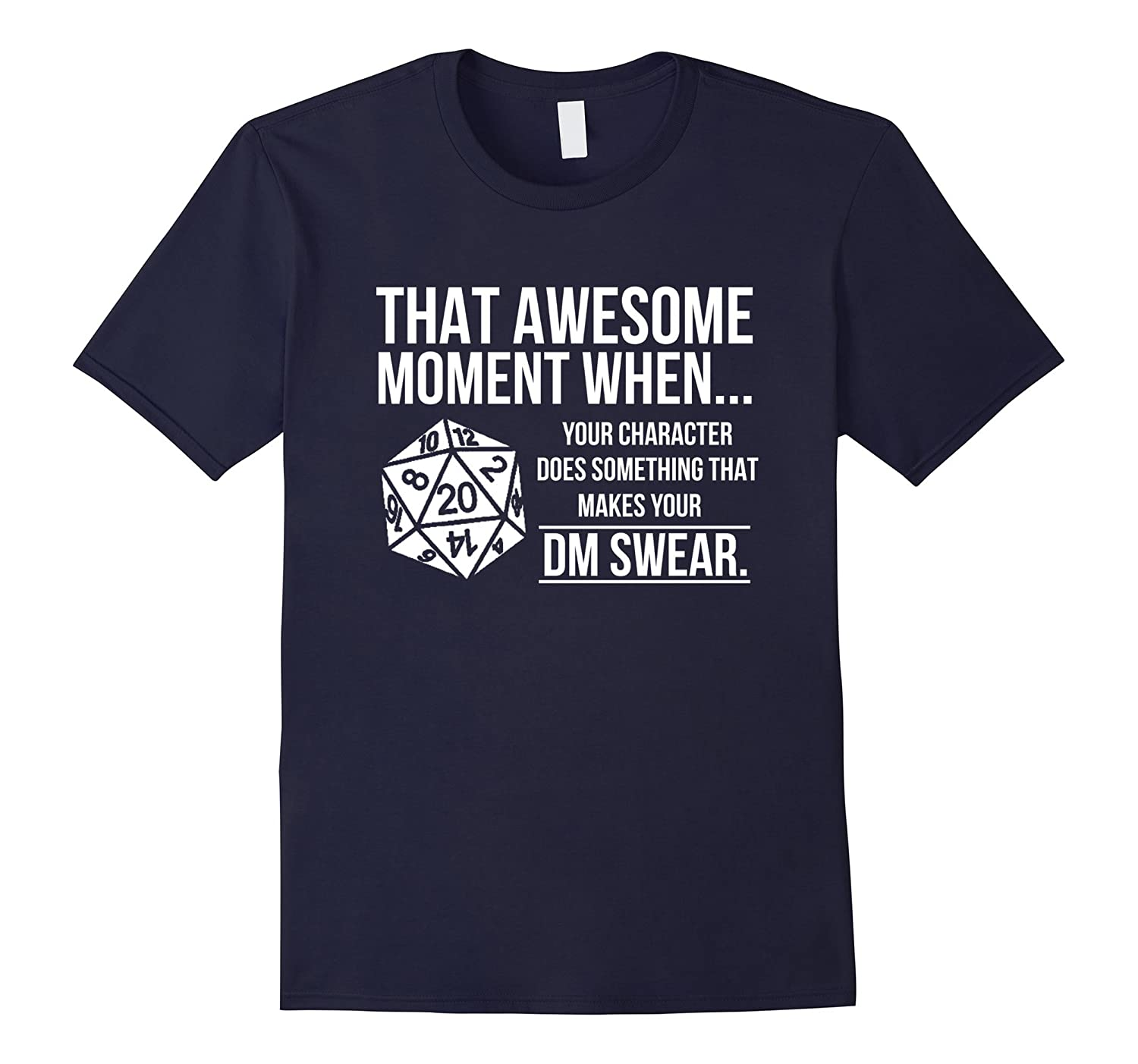 Your character does something that makes your DM swear Tee-Vaci
