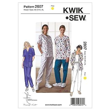 KWIK-SEW PATTERNS Kwik Sew Mustern k2807, Größe XS klein – mittel ...