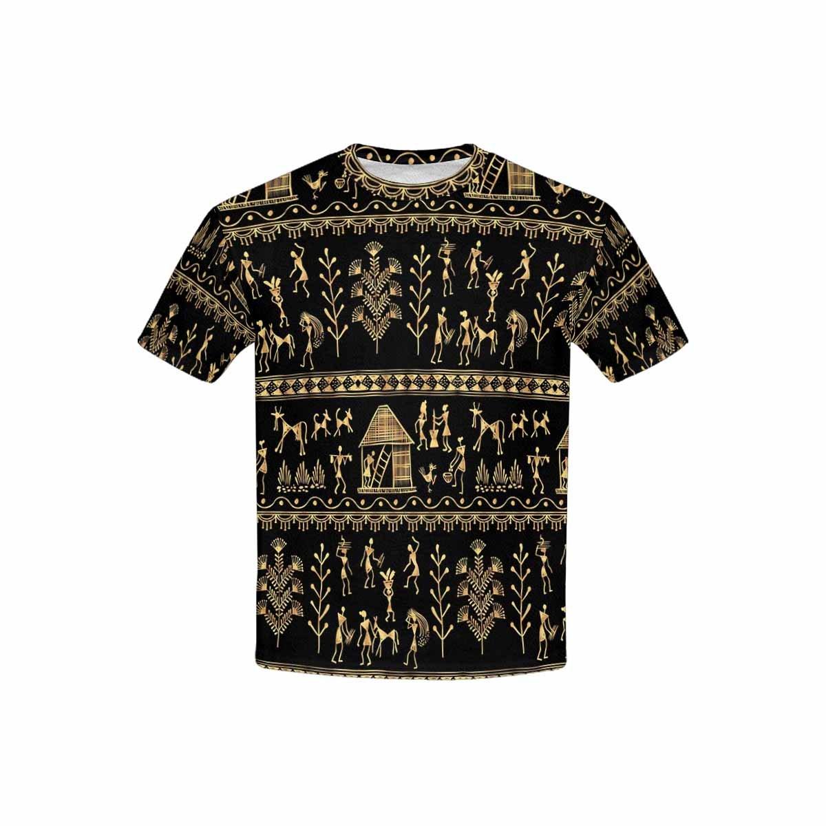 INTERESTPRINT Childs T-Shirt Traditional Art India XS-XL