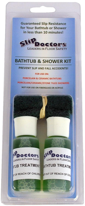 Amazon.com: Bathtub Non Slip Shower Safety Treatment Kit: Home U0026 Kitchen