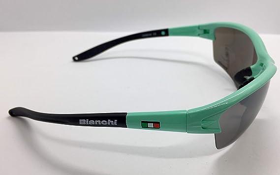 Bianchi Gants de Sport Summer Line 2020 Taille M Couleur Noir//Bleu Clair Code C9531484