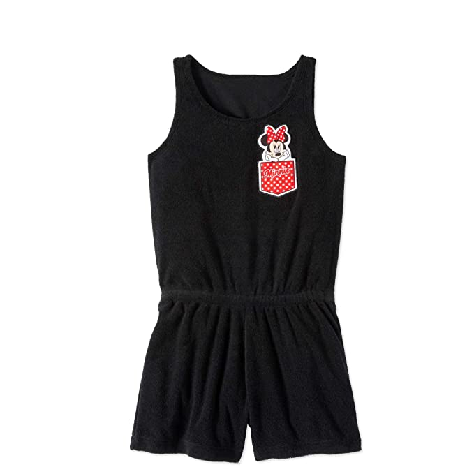 617e2d6f7fff Minnie Mouse Disney Girls  Swim Bathing Suit Terry Romper Cover Up With UPF  50 Sun
