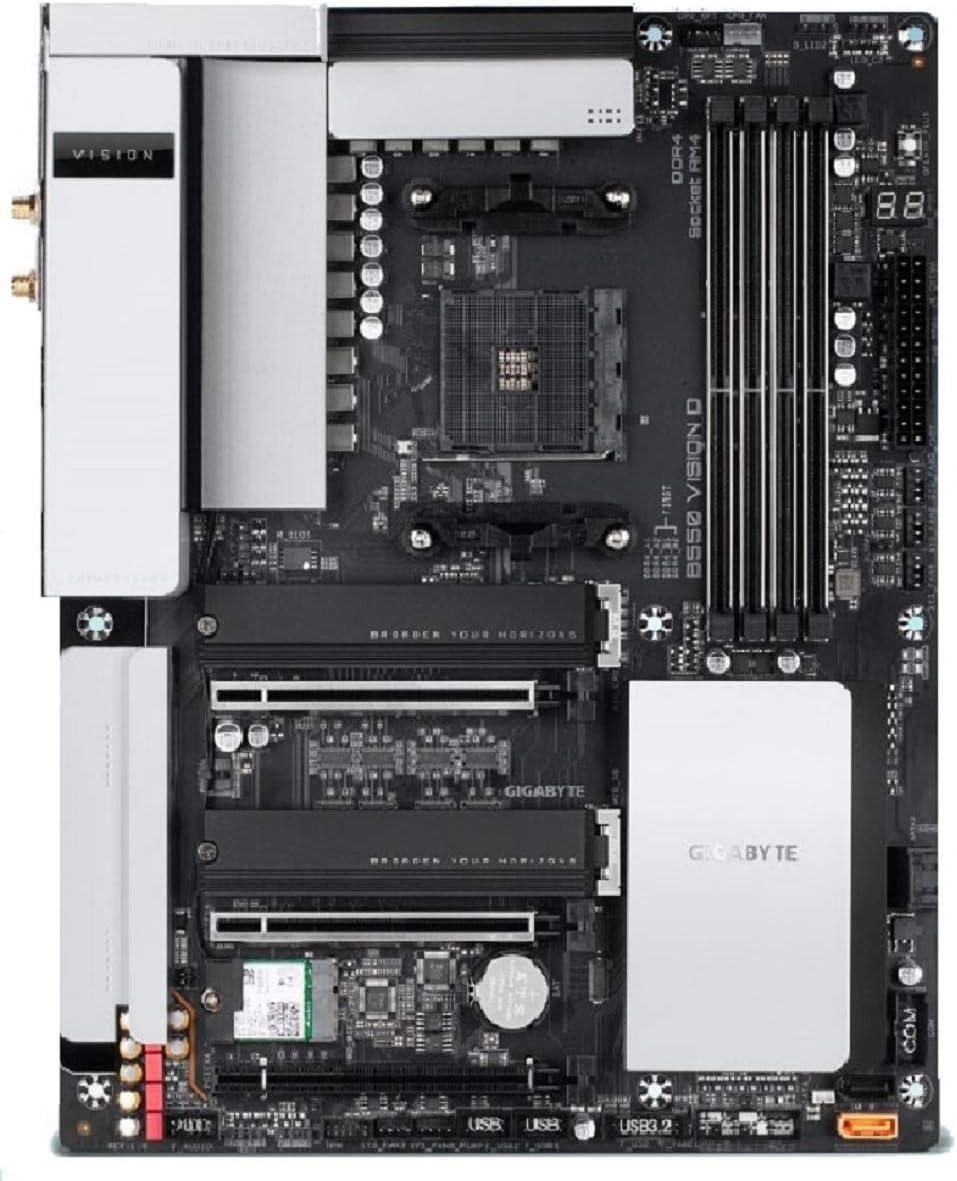 Gigabyte B550 Vision D Atx Mainboard Sockel Am4 M 2 Computer Zubehör