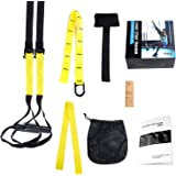 PRO Suspension Trainer, LIHAO PRO Suspension Straps with Door Anchor for Body Strength Workout