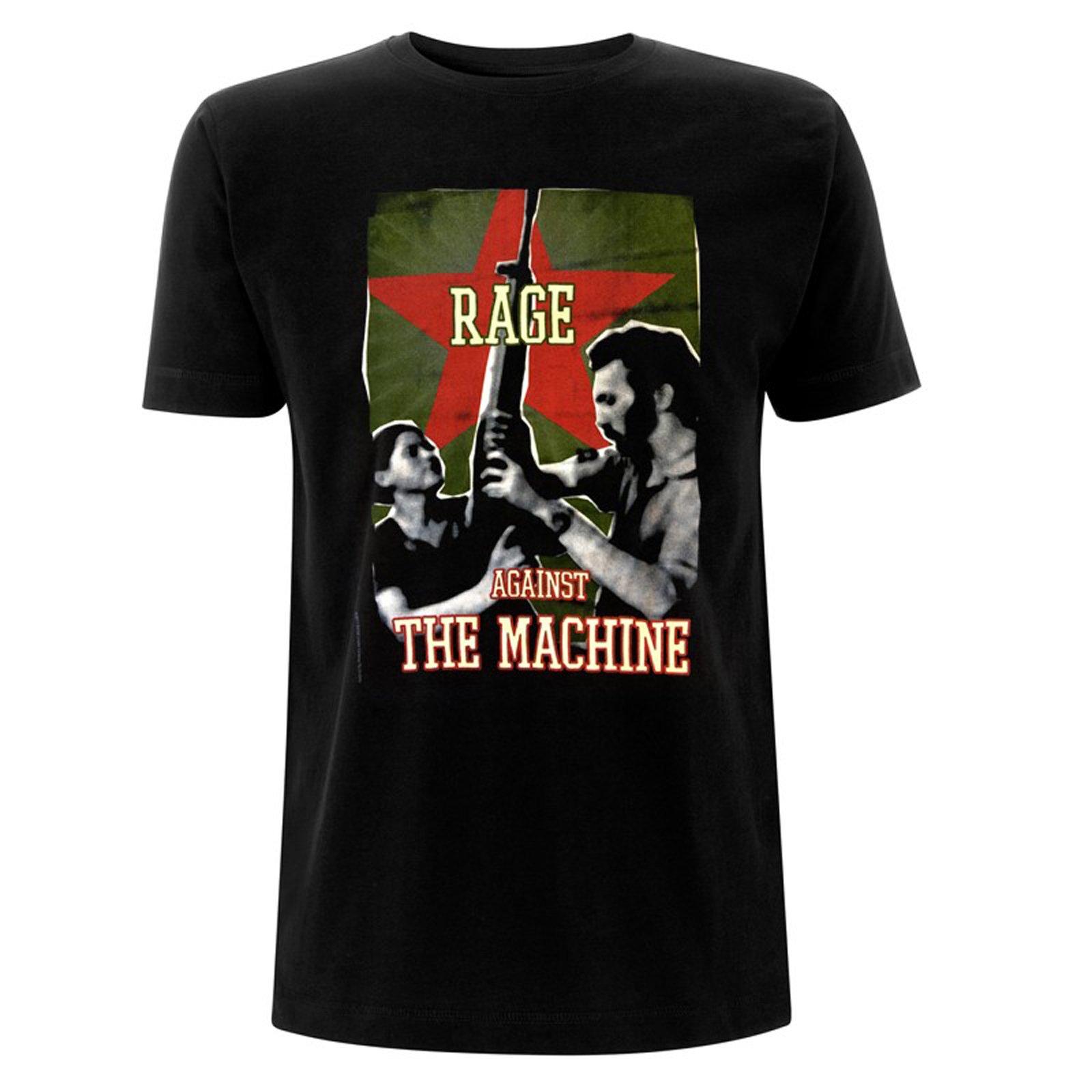 Rage Against The Machine Rifle Tom Morello Tee T Shirt S Unisex 9845