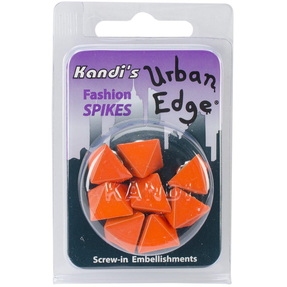 Kandi Corp Urban Edge pirámide Screwback Spike, 13 mm por 9 ...