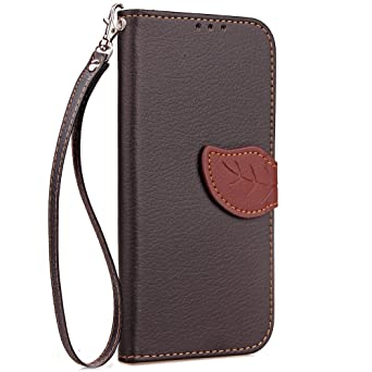 Amazon.com: Vodafone Smart Turbo 7 Case, Premium PU Leather Wallet Pouch Flip Cover Case Anti-Scratch Defender CoverBumper For Vodafone Smart Turbo 7 ...