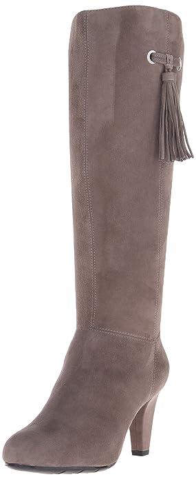 Bandolino Women s Bacia Suede Boot Grey