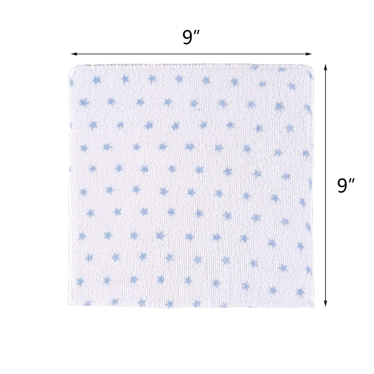 Gentle on Sensitive Skin Super Soft Absorbent Baby Bath Wash Cloths for Face /& Body Best Baby Registry and Baby Shower Gift Baby Washcloths 24 Pack
