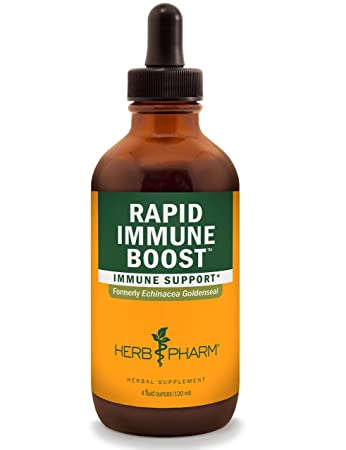Herb Pharm Rapid Immune Boost Liquid Herbal Formula for Active Immune Support – 4 Ounce