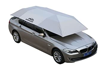DINGKU - Paraguas de Sol para Coche, Totalmente automático, para Aislamiento de Calor y