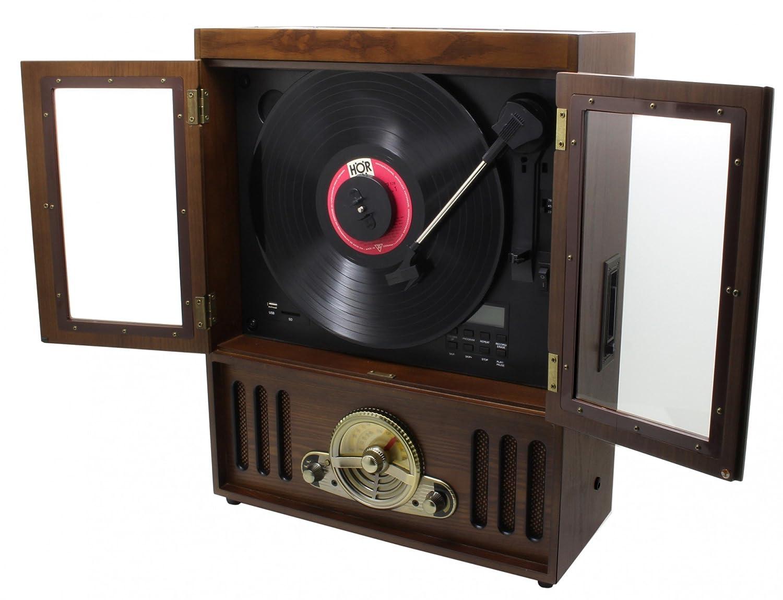 Soundmaster NR600 - Tocadiscos con Reproductor CD/CD-MP3/CD-R/CD ...